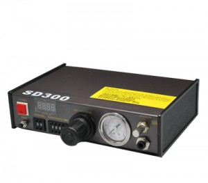 智能高精度全自动点胶机SD300  智能可控点胶量与时间间隔的自动点胶机 工厂专用型 LED显示