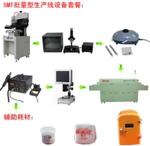 SMT生产线 回流焊 丝印机 贴片机