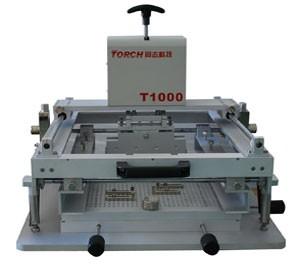 手动精密丝印机 锡膏印刷机 同志科技T1000S精密丝印机