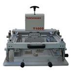 手动精密丝印机|锡膏印刷机|同志科技T1000S精密丝印机