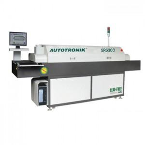 计算机控制通道式回流焊SR630C 智能通道式回流焊 LED焊接设备